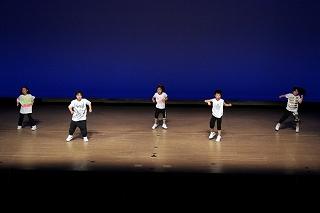 アクロバットダンスを練習した成果を発揮 in Yokohama