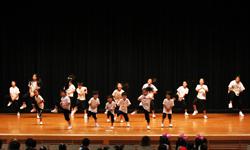 ダンスコンテストにゲスト参加