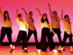 イベントで踊って気分爽快