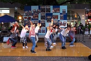 蒲田駅前広場納涼大会1