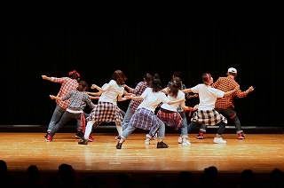 ダンスコンテスト ショーケース1
