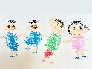 子供の絵画